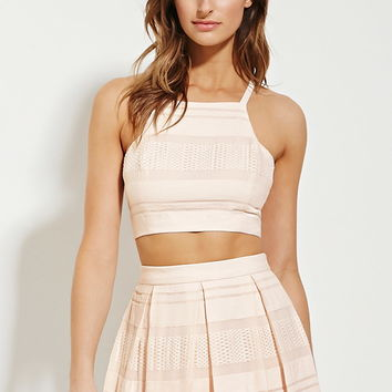 Contemporary Textured Crop Top | Forever 21 - 2000167620