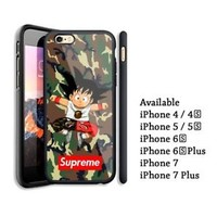 Best Son Goku Supreme Bape iPhone 7 and 7 plus Hard Plastic Case Cover