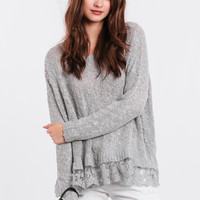 Cold Case Oversized Sweater