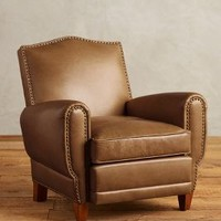 Premium Leather Nailhead Clairmont Chair by Anthropologie