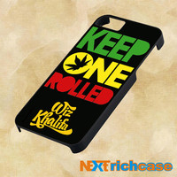 Keep One Rolled Wiz Khalifa  For iPhone, iPod, iPad and Samsung Galaxy Case
