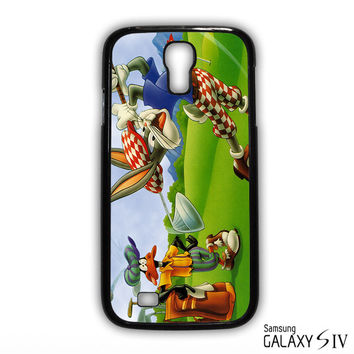 Bugs Bunny Playing Golf for phone case Samsung Galaxy S3,S4,S5,S6,S6 Edge,S6 Edge Plus phone case