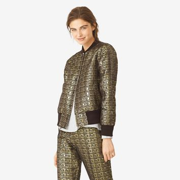 Kate Spade Saturday Baroque Bomber
