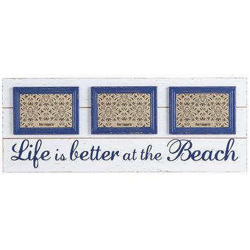Life Is Better at the Beach Collage Frame