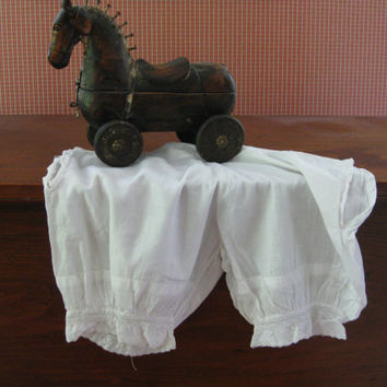Victorian Baby Bloomers - Petite Pantaloons from Mama's old Petticoat