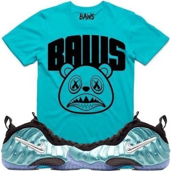Baws Arch Sneaker Tees Shirt - Island Green Foamposites