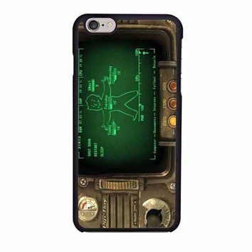 pipboy 3000 fallout iphone 6 6s 4 4s 5 5s 6 plus cases