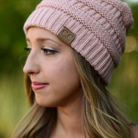 Best Ever Beanie - Dusty Pink