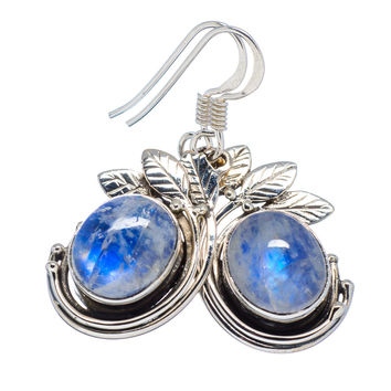 Moonstone Sterling Silver Garden Earrings