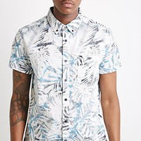 Tropical Leaf Print Shirt