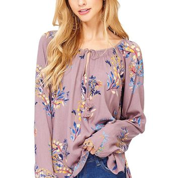 Enchanted Floral Blouse