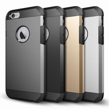 NEW SHOCKPROOF STRONG RUGGED SLIM ARMOR HEAVY DUTY CASE FOR IPHONE 7 6 PLUS SE