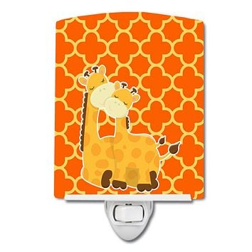 Giraffes Ceramic Night Light BB8588CNL