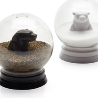 Snowglobe Salt & Pepper Set | Serveware | Tabletop-and-bar | Z Gallerie