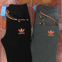 Adidas Original Women's Winter Sport Casual Knit Long Pants Sweatpants