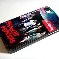 One Direction Midnight Memories in Galaxy - Print on iPhone 4/4s Case - iPhone 5 Case - Samsung Galaxy S3 - Samsung Galaxy S4