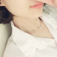 Shiny Gift New Arrival Stylish Pearls 925 Silver Jewelry Lock High Quality Necklace [10444668820]