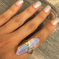 Luana Opal Point Ring