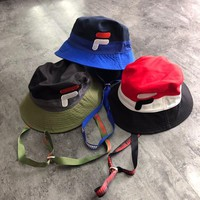 D-Antidote x Fila Bucket Hat With Logo