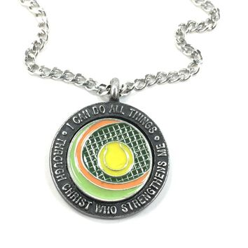 Tennis Phil 413 Chain Necklace Made In The USA