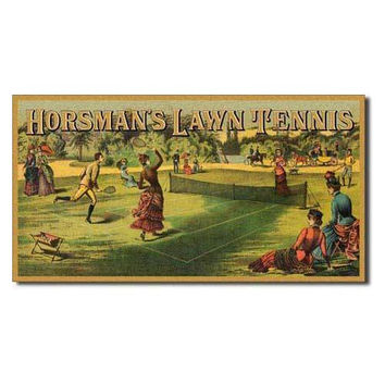 Tin Sign : Horsman's Lawn Tennis