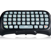 Controller Messenger Keyboard ChatPad for Xbox 360 (Black)