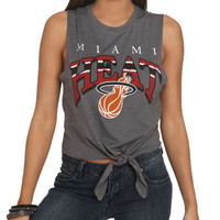 Miami Heat Tie Tank | Shop License Graphics at Wet Seal