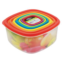 Rainbow Food Storage 14 Pieces