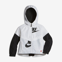 The Nike Sportswear Windrunner Toddler Girls' Jacket.
