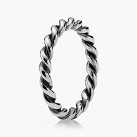 Women's PANDORA 'Intertwined' Band Ring - Silver