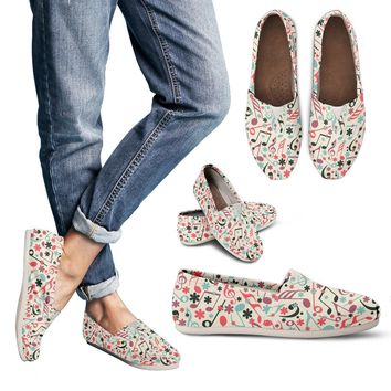 70's Style Music Casual Shoes