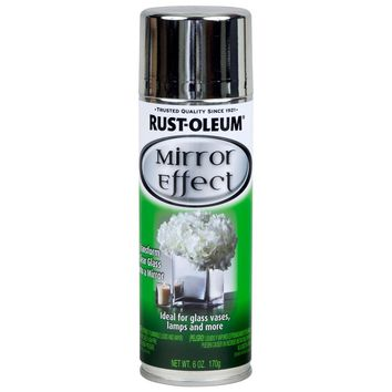 Rust-Oleum Specialty 6 oz. Mirror Finish Spray Paint-267727 - The Home Depot
