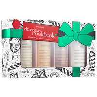 Christmas Cookbook Set - philosophy | Sephora