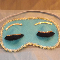 Breakfast at Tiffanys Sleep Mask and FREE by TheGaudyGirlExchange