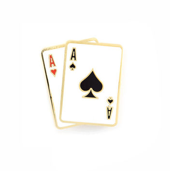 Aces Pin