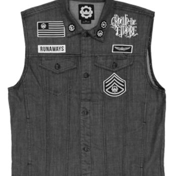 Custom Denim Runaways Vest