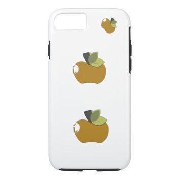 Dark Goldenrod Apple iPhone 7 Case