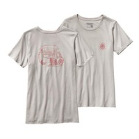 Patagonia Women's Surf Van Cotton Crew T-Shirt