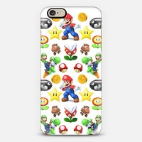 It's Me Mario iPhone 6 case by Love Lunch Liftoff | Casetify