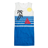 J.Crew Womens Beach Scene Tank Dress
