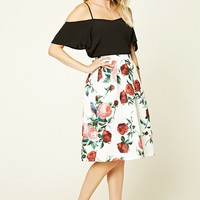 Contemporary Floral Skirt