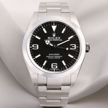 Full set Rolex Explorer 214270 Stainless Steel