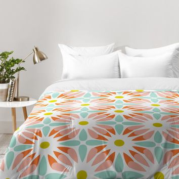 Heather Dutton Crazy Daisy Sorbet Comforter