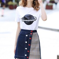 2019 Newest Gucci Women's Ready To Wear T-shirt And Skirts Style #21 - Best Online Sale