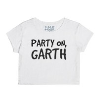 Party on, Garth-Female Snow T-Shirt