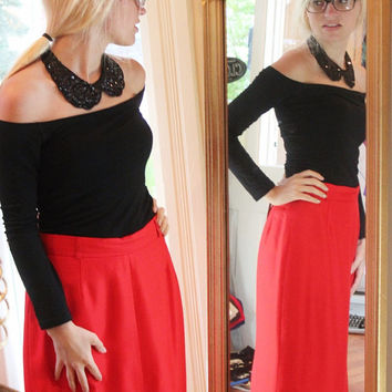 Michael Kors Skirt, Red Pencil Skirt