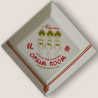 Opium Room Coaster/ Cocktail Napkin Tray - 1920's Prohibition