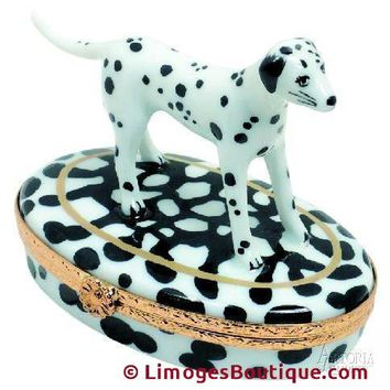 Dalmatian Dog Limoges Boxes