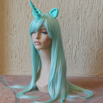 Lyra pony costume cosplay wig -  my little pony cosplay / unicorn / friendship is magic