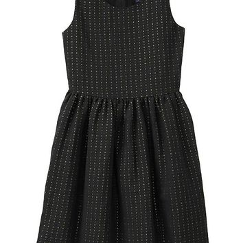 Gap Girls Factory Metallic Dot Dress
